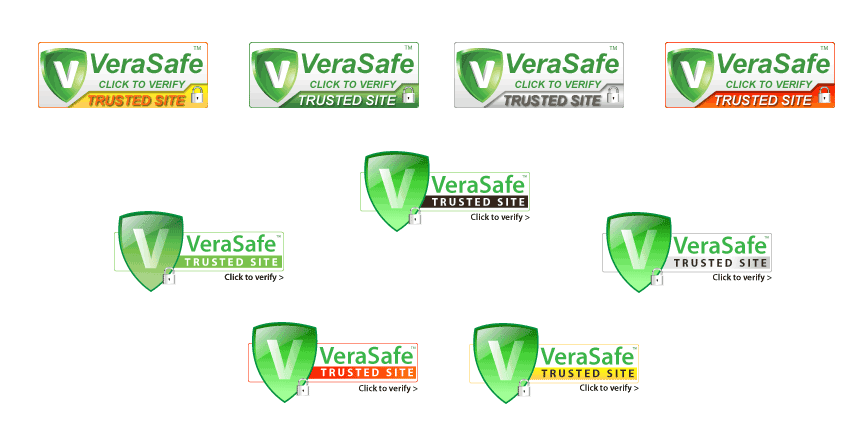 Get access to all 9 VeraSafe Trust Seals